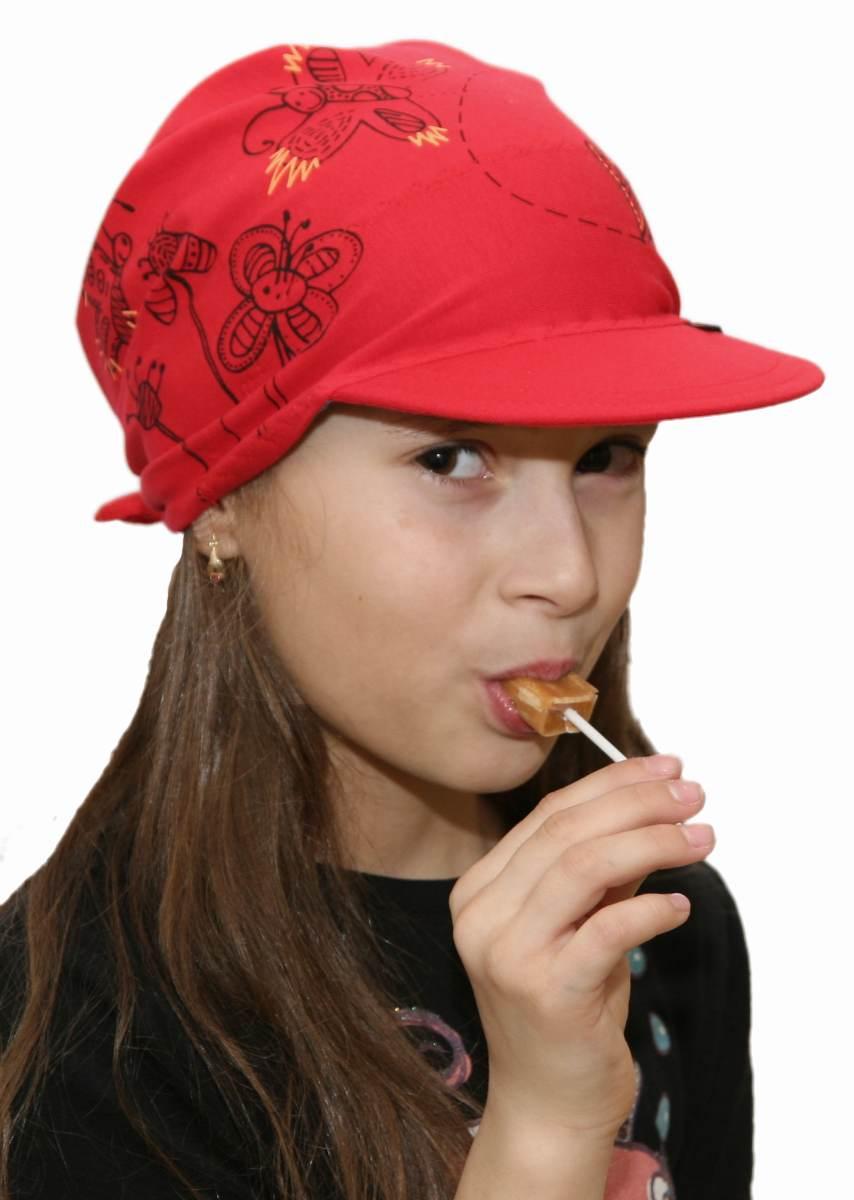 929f08cb126 0152) INFIT Dětský šátek s kšiltem