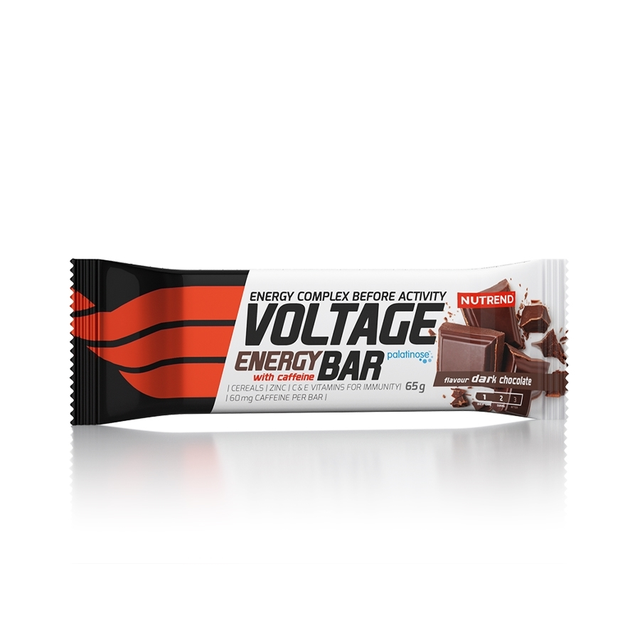 nutrend voltage energy bar with caffeine 65 g  kylie