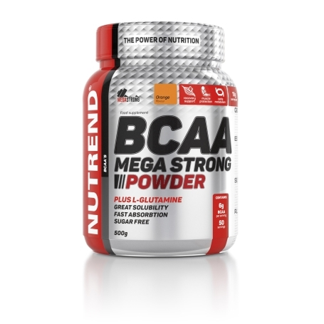 NUTREND BCAA MEGA STRONG POWDER 500g