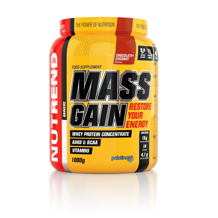 NUTREND MASS GAIN 1000 g - biscuit