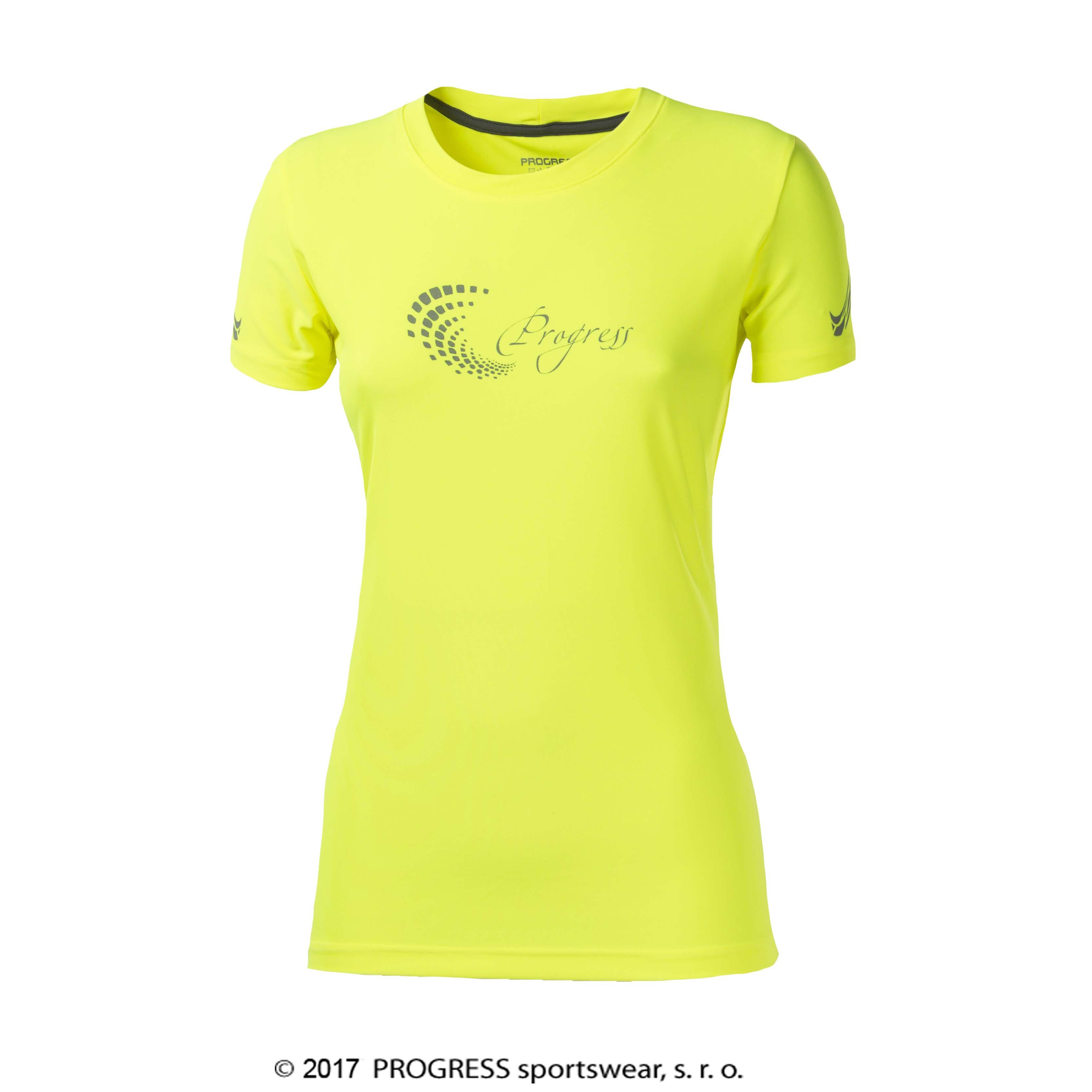 PANTERA HI-VIZ dámské sportovní tričko PROGRESS  87c7c1f4b7
