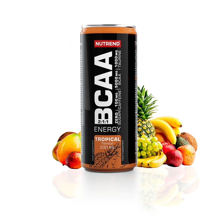 NUTREND BCAA ENERGY 330 ml - tropic