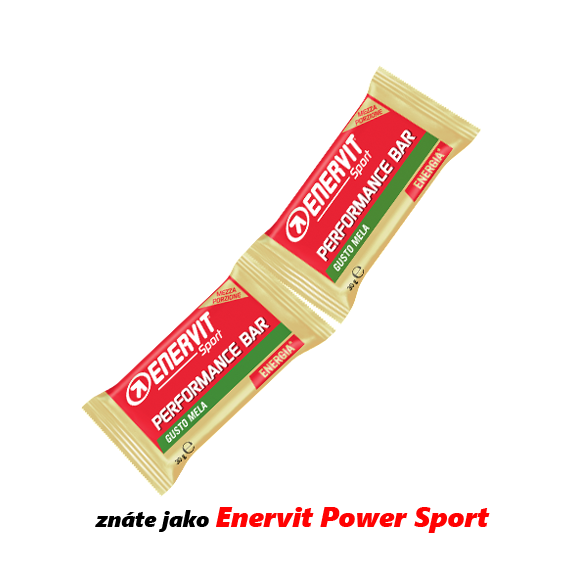 ENERVIT Performance Bar - jablko 2x30 g