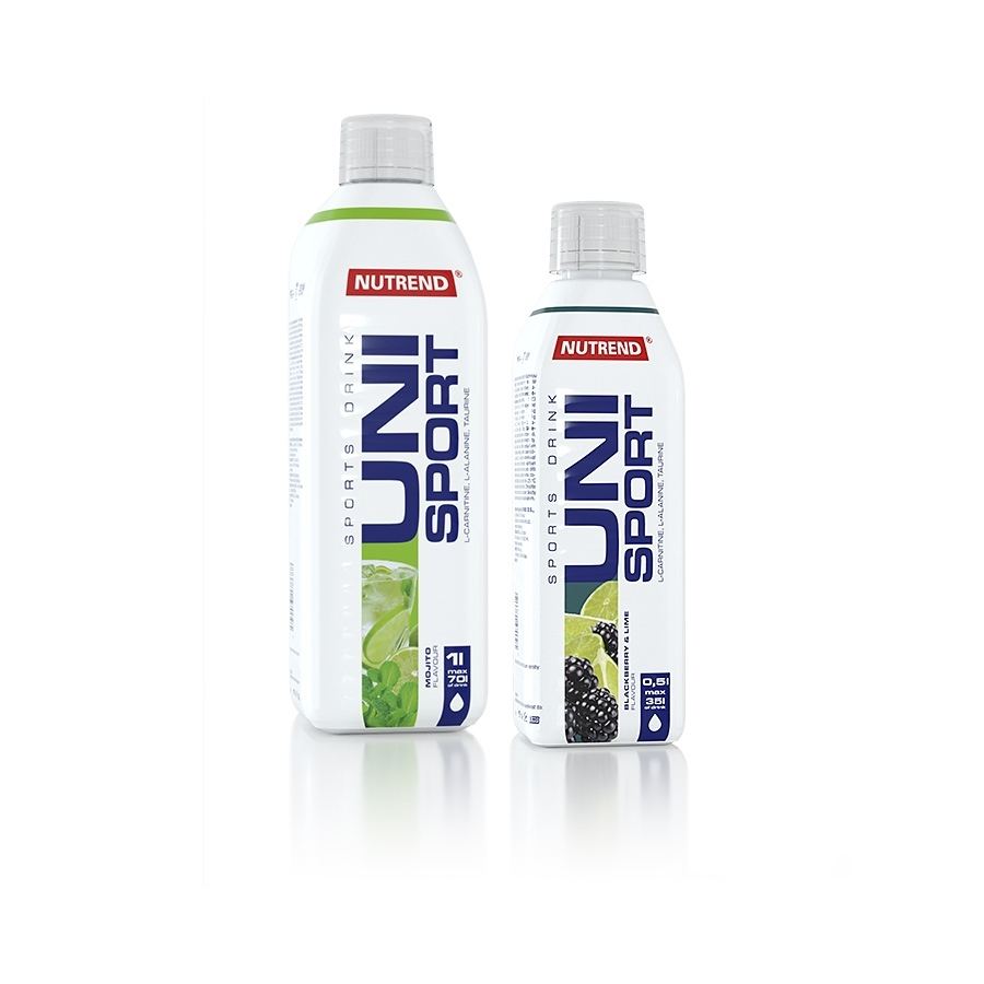 NUTREND UNISPORT 1000 ml - bitter lemon