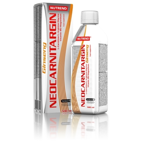 NUTREND NEOCARNITARGIN s ženšem 500 ml