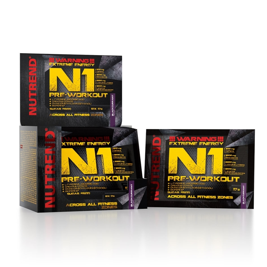 NUTREND N1 PRE WORKOUT 10x17 g