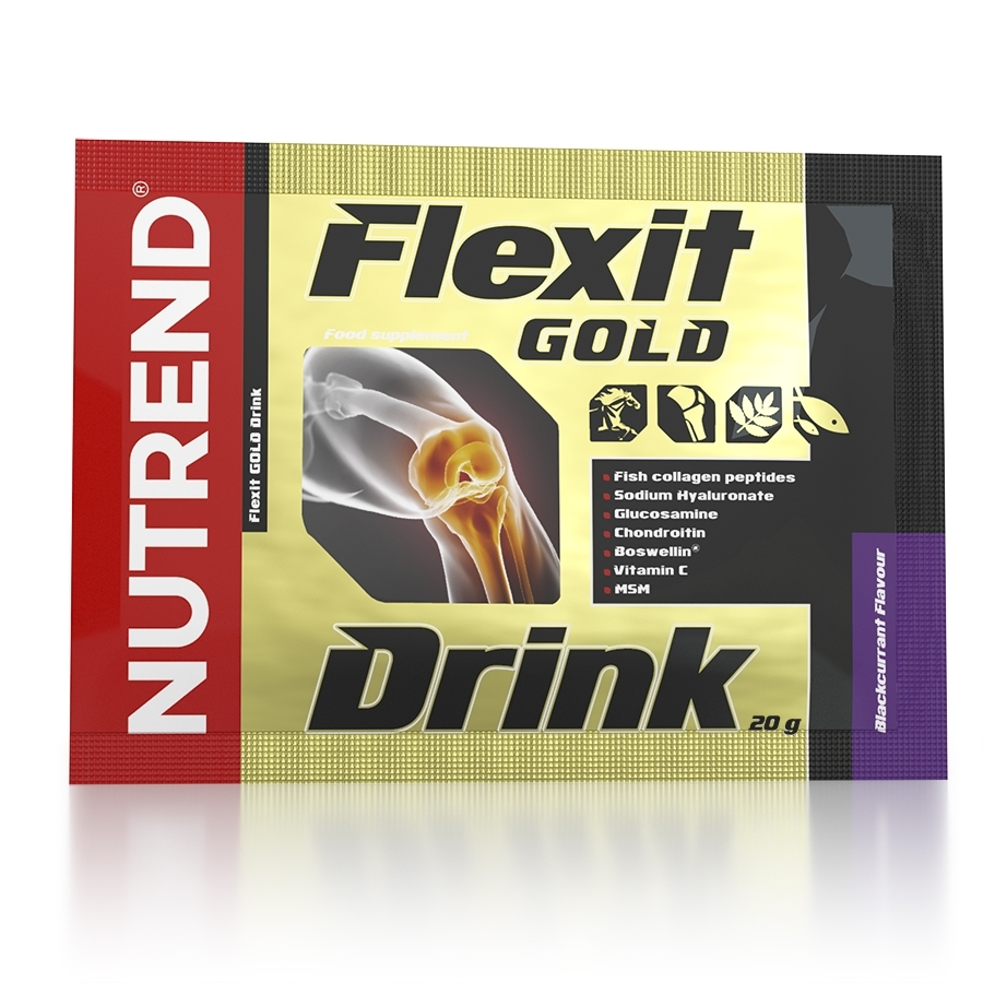 NUTREND FLEXIT GOLD DRINK 10x20g