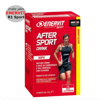 ENERVIT After Sport Drink 15g - citron