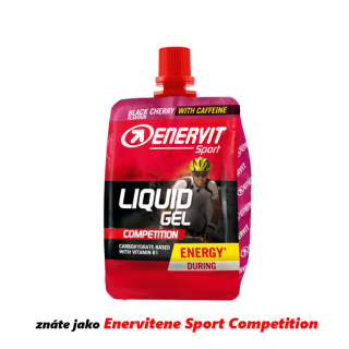 ENERVIT Liquid Gel Competition s kofeinem 60 ml